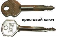 Застрял крестовой ключ